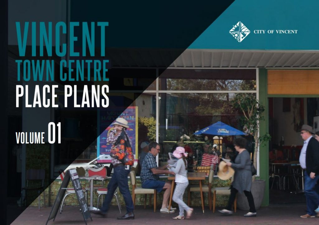 City of Vincent Town Centre Place Plans Cover