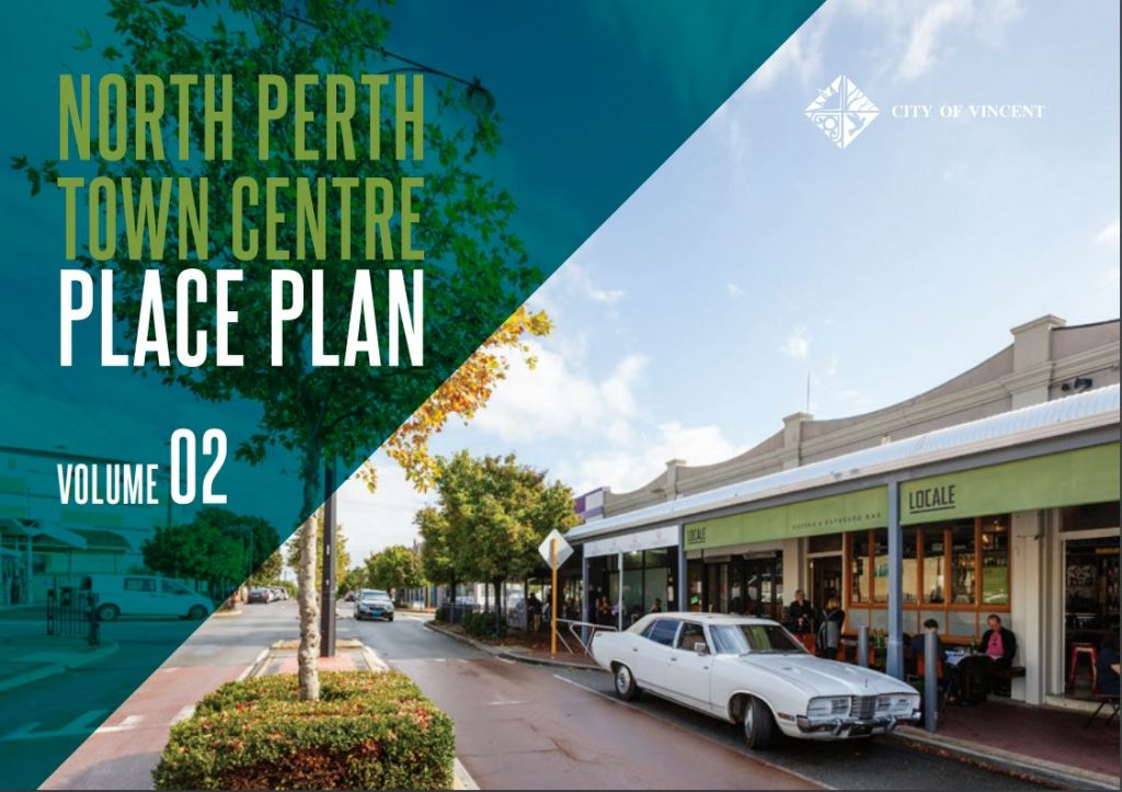 North Perth Town Centre Place Plan Cover