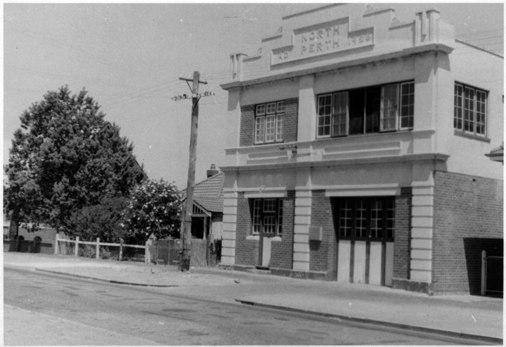North Perth Fire Station View Street