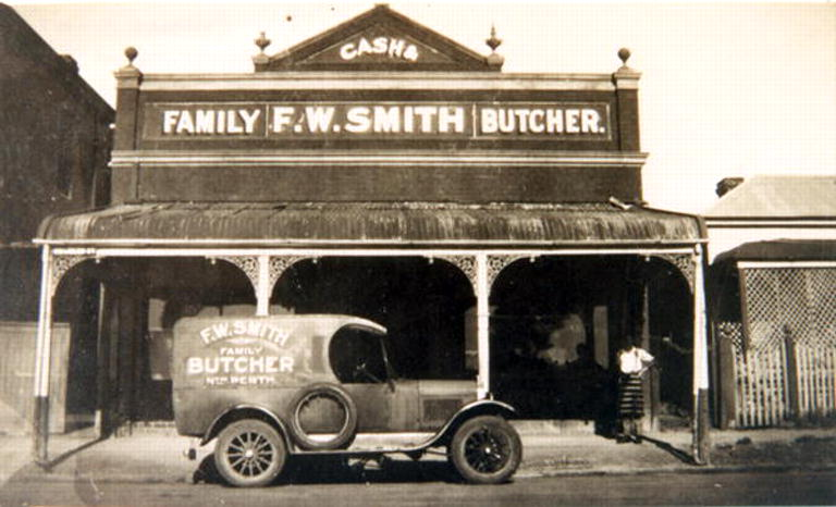 FW Smith Butcher 312 Charles Street
