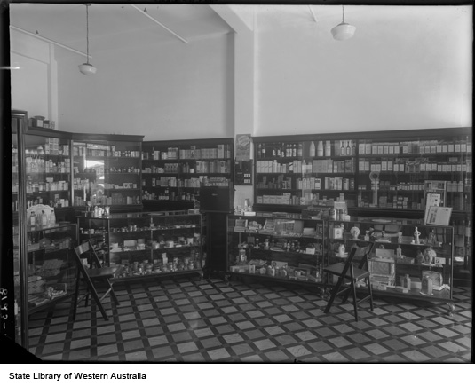 W.G. Wynne's Pharmacy, 423 Fitzgerald Street North Perth