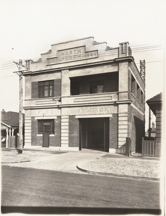 North Perth Fire Station 1926