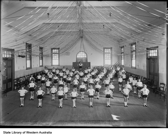Children in a Dancing School, North Perth Town Hall 1932