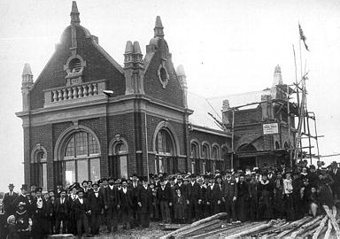 North Perth Town Hall Under Construction