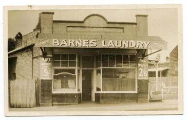 Barnes' Laundry in North Perth