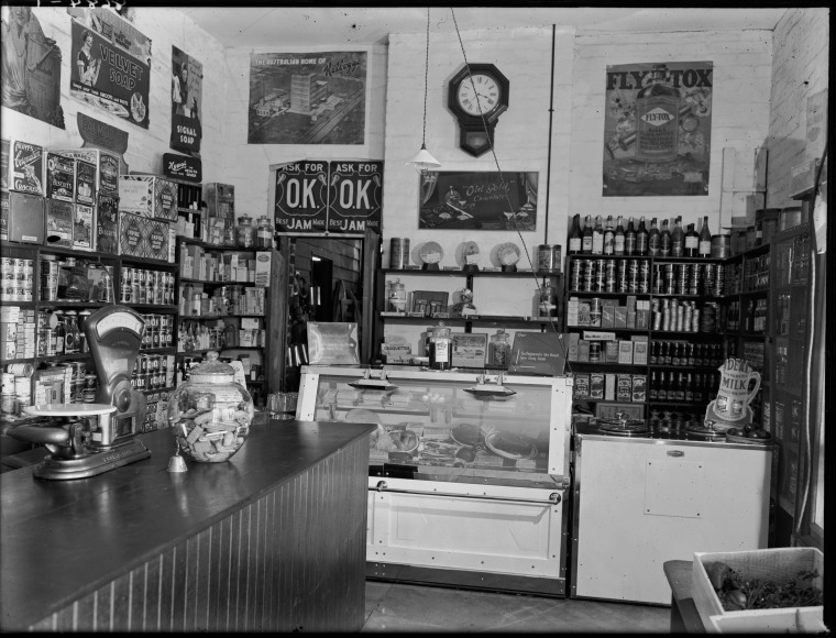 Interior of a Corner Store Perth 1933