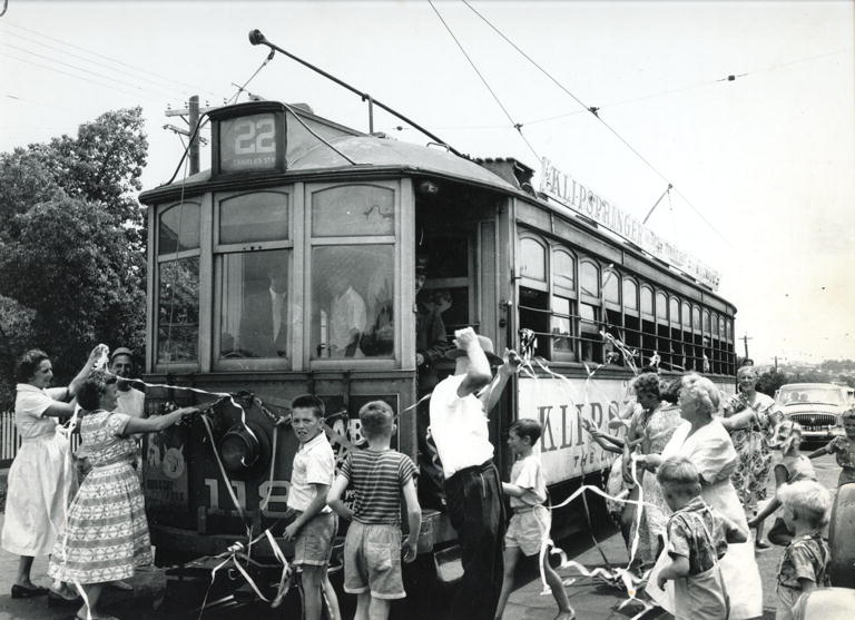 Last Tram in Angove Street