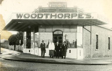 Woodthorpe's Butchers c 1920