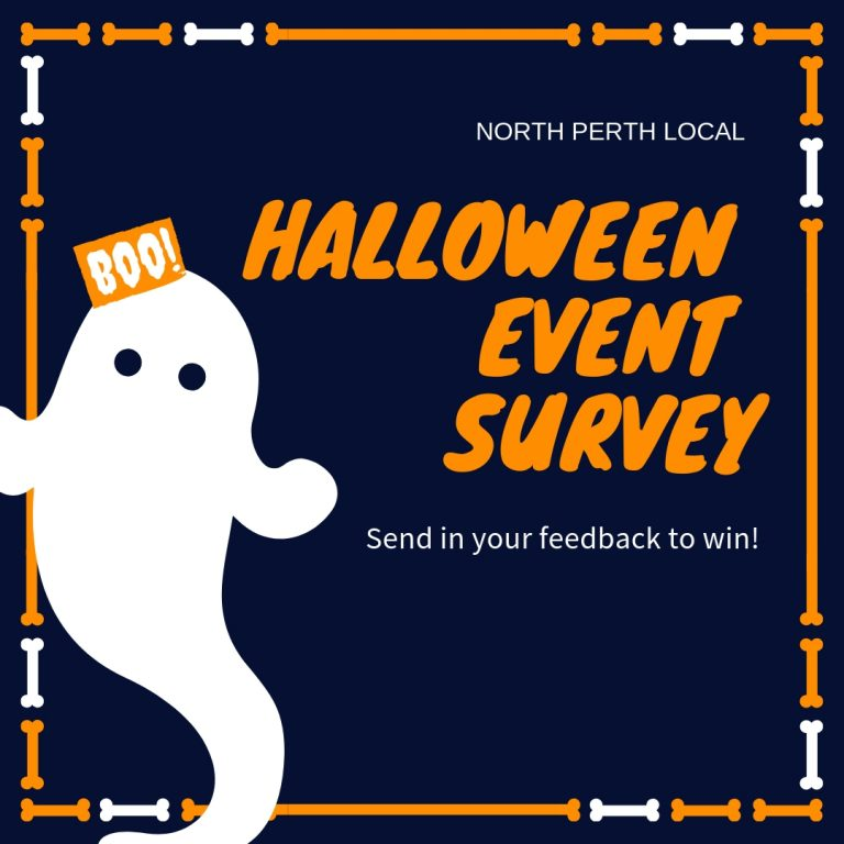 halloween on Angove St 2018 survey